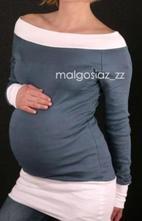 Těhotenská tunika - výběr barev, l / m / s / xl