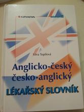 Anglicko-český, česko-anglický lékařský slovník,