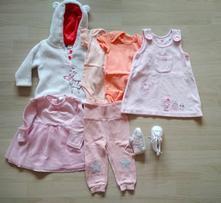 Sada oblečení pro holčičku 62-68,