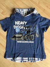 Elegantní triko s košilí, c&a,98