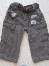 Manžestrové kalhoty 6-12 měsíců, early days,74