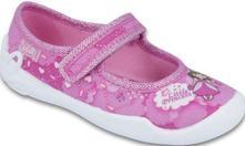 Dívčí papučky,balerínky befado, certifikovaná obuv, befado,28