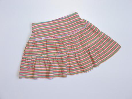 P646 pruhovaná bavlněná sukýnka vel. 92, george,92
