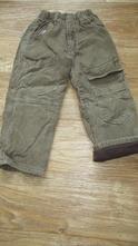 Manžestrové kalhoty délka 60cm, 110