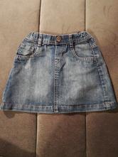 Riflová sukně, mothercare,98