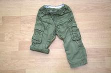 Plátěné kalhoty/ kraťasy h&m, vel. 92, h&m,92