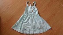 Dívčí vyšívané šaty, 110