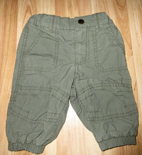 Podšité kalhoty, h&m,62