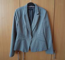 Elegantní dámské šedé sako sáčko, atmosphere,m