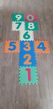Pěnové puzzle - číslice 0-9,