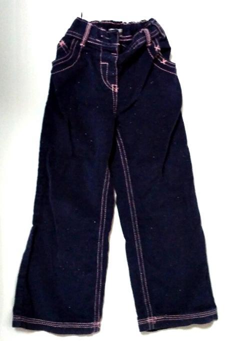 P60 - tmavě fialové manžestráky, f&f,110