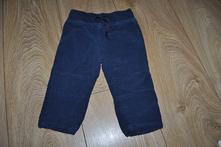 Zateplené kalhoty - manšestráky, lupilu,74