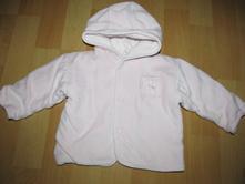 Semišový kabátek, new baby,56