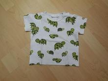 tričenko se želvičkami, h&m,74