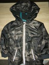 Maskacová bunda podšitá fleecem,vel 3-4 roky, f&f,104