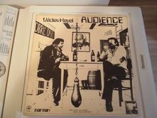 Lp vinyl audience od václava havla,