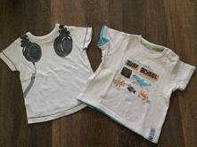 Bavlněná trička 2ks (cena za obě), 74