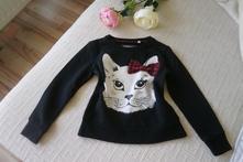 Mikina s kočkou, palomino,122
