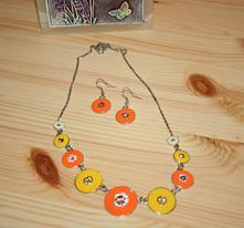 Set náušnice - náhrdelník,