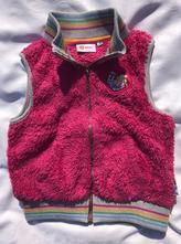 Dívčí sytě růžová vesta lego friends, vel. 6 let, lego,116