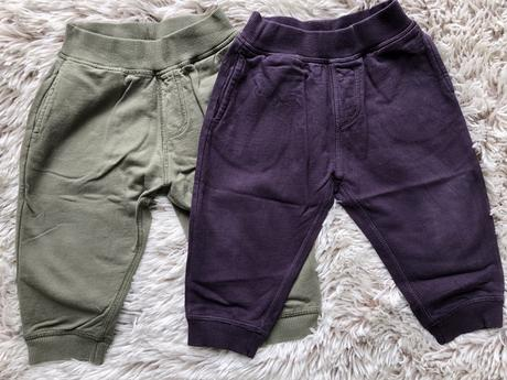 2x teplaky mothercare, mothercare,80