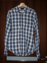 Pánská košile s dlouhým rukávem, zara,l