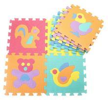 Pěnové puzzle - 29 x 29 cm - 10 ks,