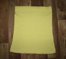Žlutý top bez ramínek, atmosphere,40