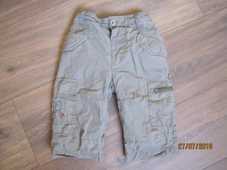 Podšité kalhoty, mini mode,74