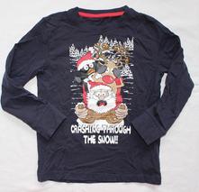 At49. vánoční tričko s rolničkami 4-5 let, 110