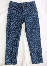 Krásné kytičkované džíny zara, 3-4roky, zara,104