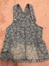 Dzinova sukně s laclem, f&f,92