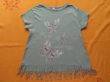 Tričko s motýli a střapcemi, takko,104