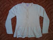 Růžový pletený svetr svetřík kardigan , dopodopo,122