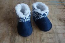 Dětské boty do kočárku 0-3m, <17