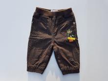 B48plátěné zateplené kalhoty vel. 62-68, 62