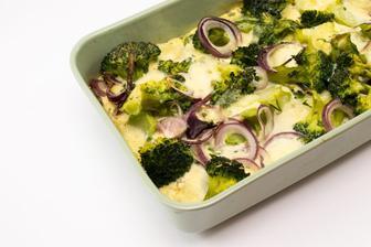 Zapečená brokolice s mozzarellou