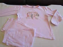 Růžové bavl. dvojdílné pyžamo zn. disney, vel. 128, disney,128