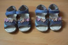 Letní sandálky pro holčičky dvojčátka, deichmann,23