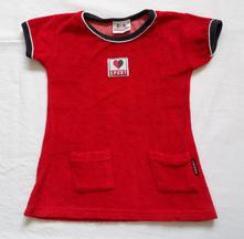 E101dívčí sametové triko s krátkým rukávem, 98