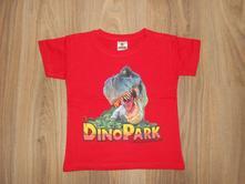 Hezké tričko dino park vel. 110, 110