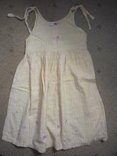 Letní vyšívané šaty lindex vel 116, lindex,116
