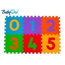 Pěnové puzzle baby ono - čísla - 6ks,