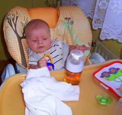 5. měsíc vývoje dítěte