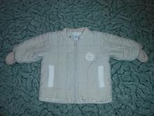 Béžová bunda, h&m,68
