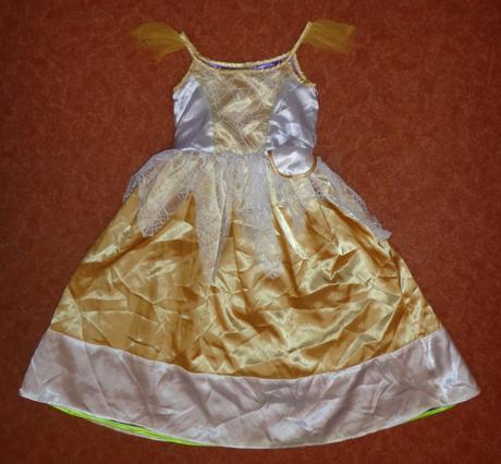 Kostým šaty čarodějnice, m&s, vel. 6-8 let.,