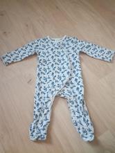 Dětské pyžamo s modrými kvítky zn. f&f, vel. 56, f&f,56