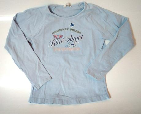 S53 - světle modré tričko blue angel, tcm,122
