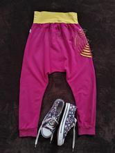 Kalhoty na jógu baggy na tanec tepláky harémky , 146