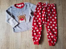 Dívčí pyžamo fleece vel.110/116, young dimension,110